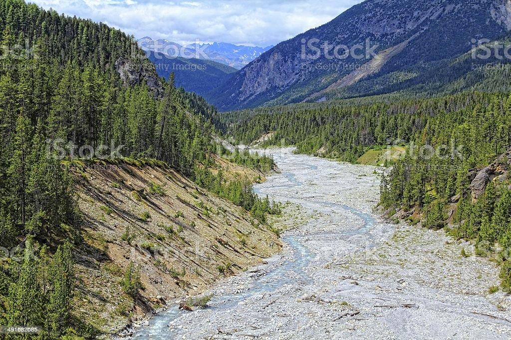 Swiss National Park stock photo