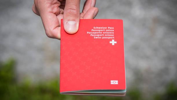 schweizer pass - andreas haas stock-fotos und bilder