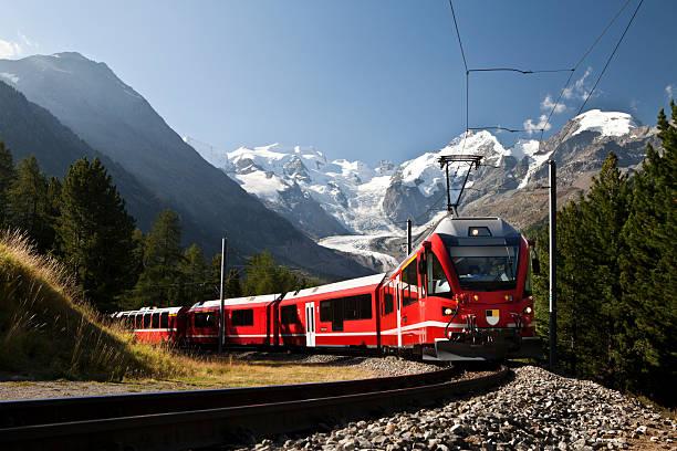 Schweizer railway – Foto