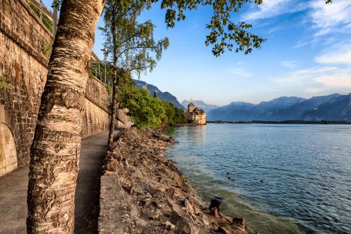 Swiss riviera at Montreux