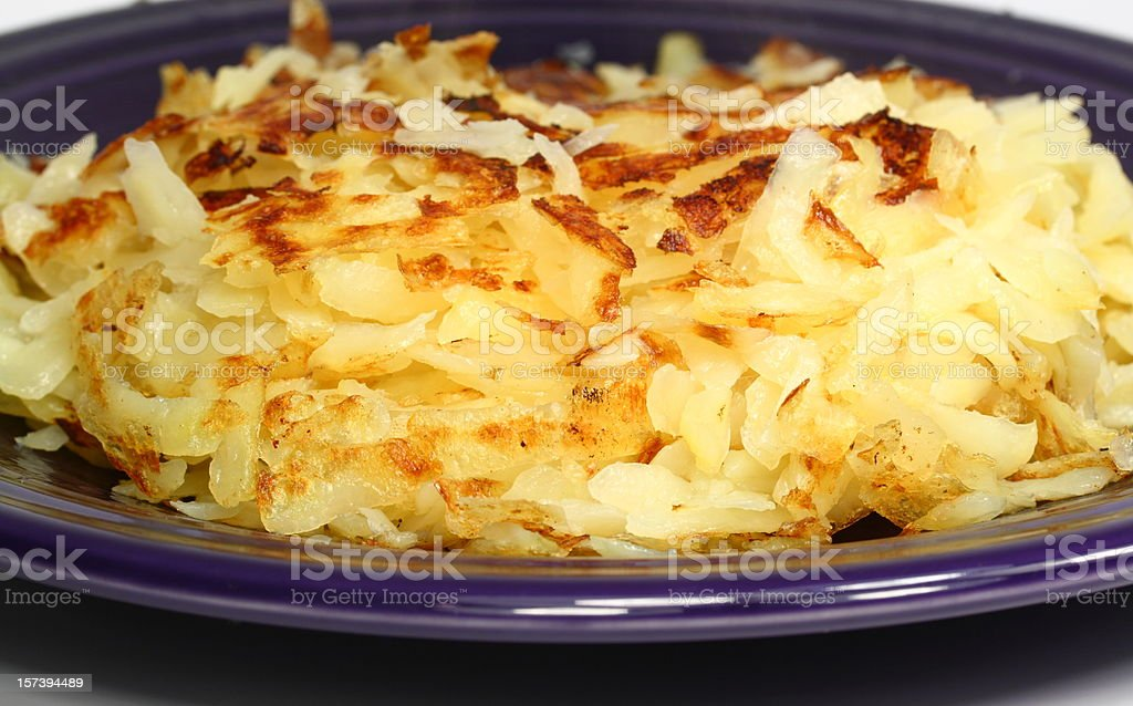 Swiss Rosti (National Food of Switzerland) stock photo