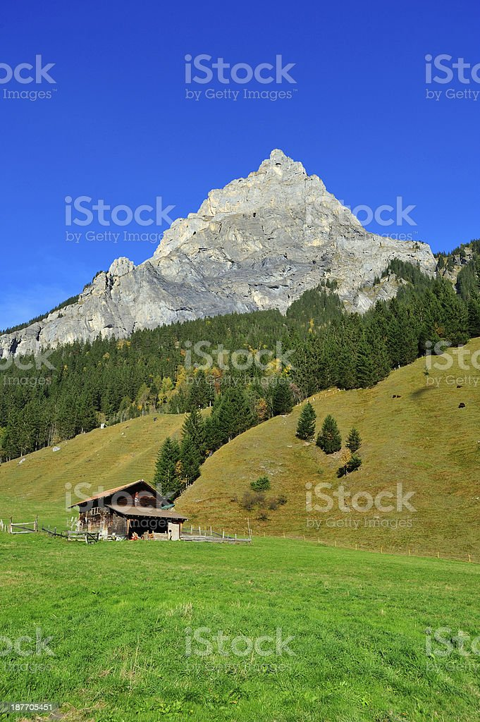 Swiss scene royalty-free stock photo