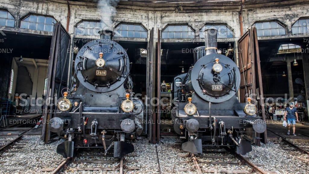 Schweizer Dampflokomotiven – Foto