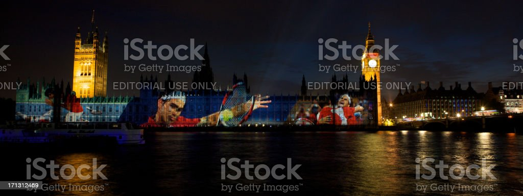 \'London, United Kingdom - August, 11th 2012: View from Albert...