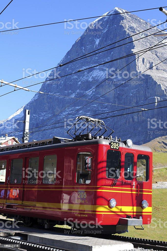 Swiss Train - XLarge royalty-free stock photo