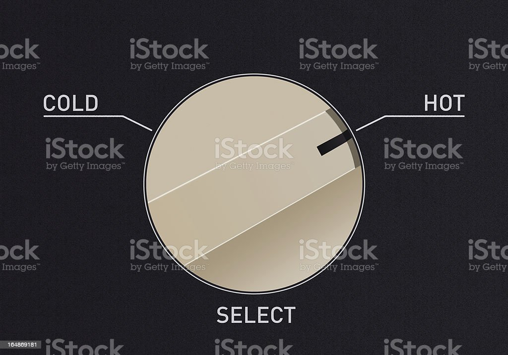Switch Dial stock photo