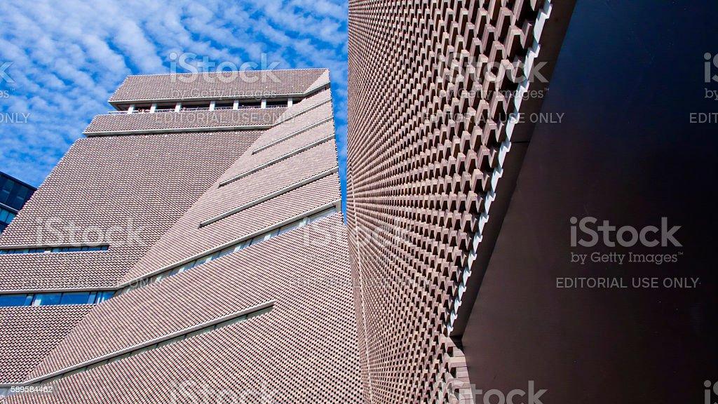 Switch House, Tate Modern Art Gallery, London, England, United Kingdom. stock photo