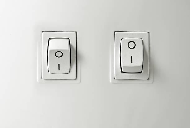 commutateur bouton de démarrage - commutateur photos et images de collection