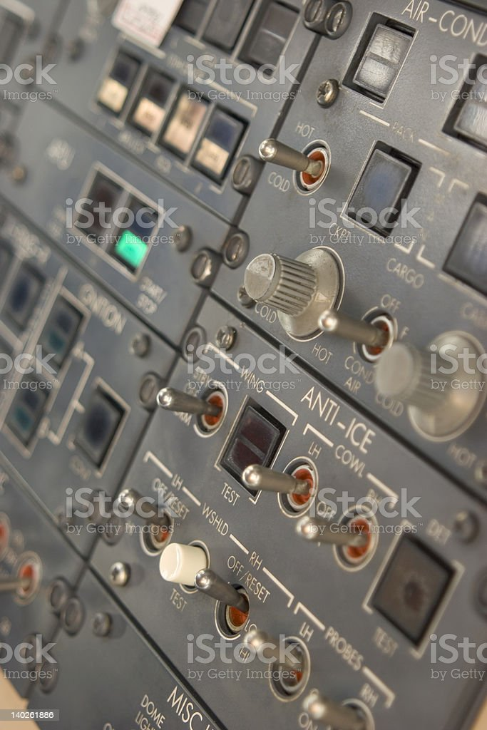 Switch Panel royalty-free stock photo