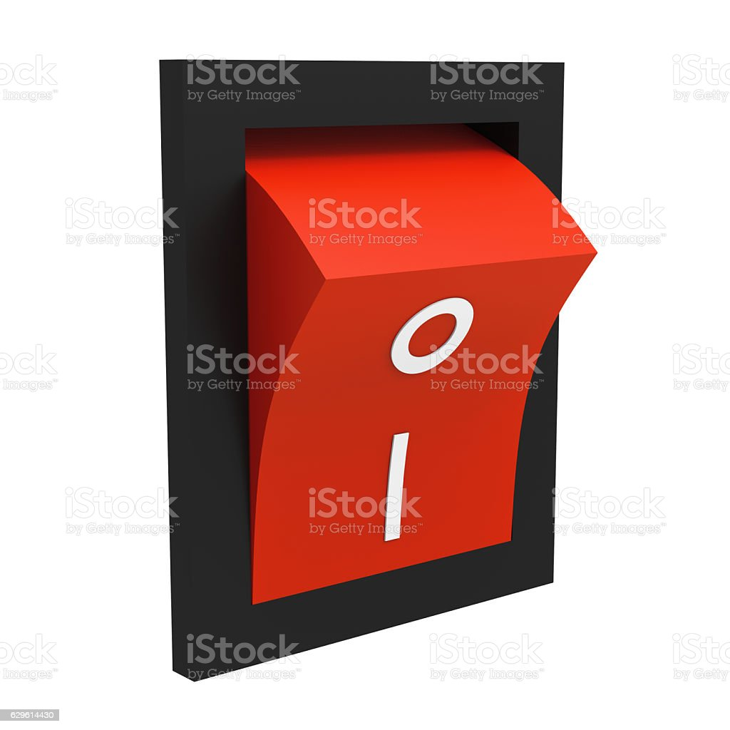 Switch stock photo