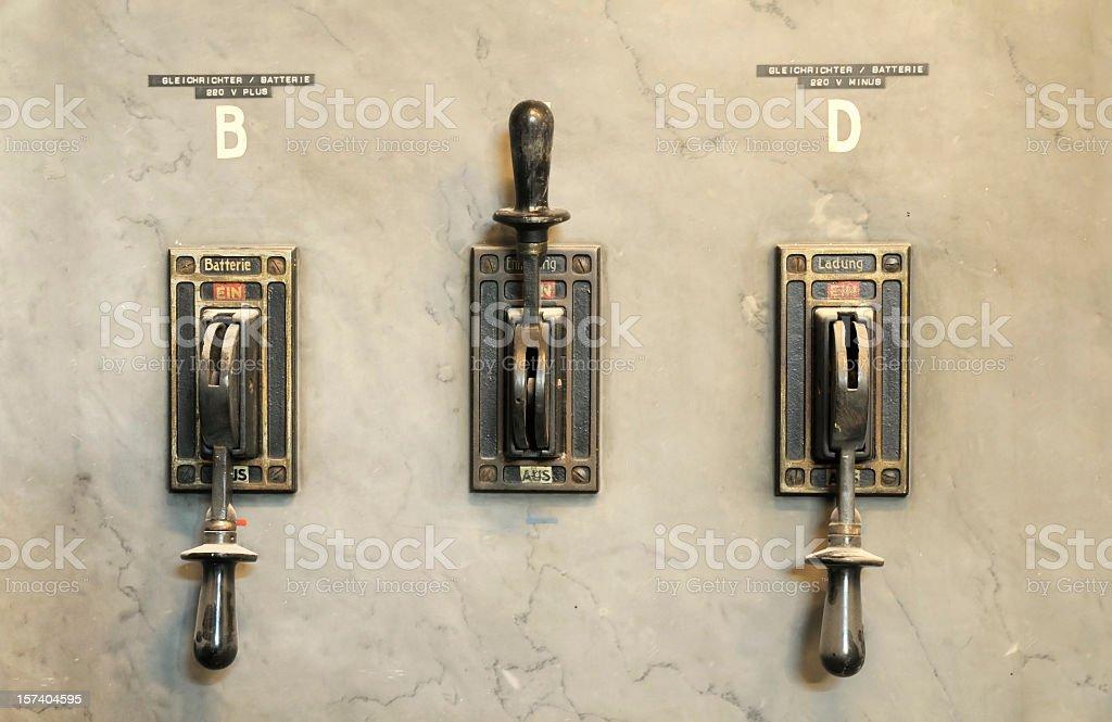 Switches stock photo