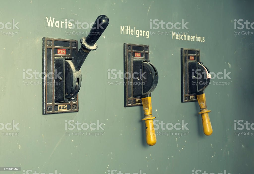 Switches stock photo