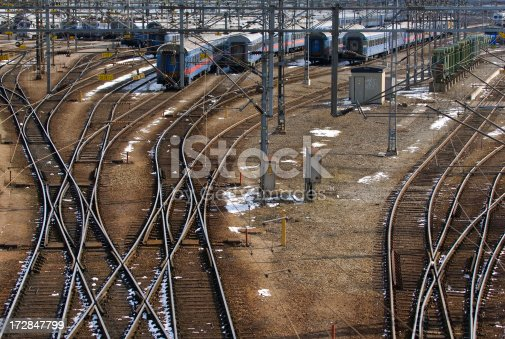 Lots of trains and tracks on this one