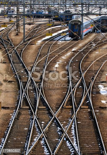 Lots of trains and tracks
