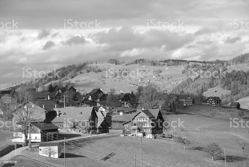 Switzerland 1950's royalty-free stock photo