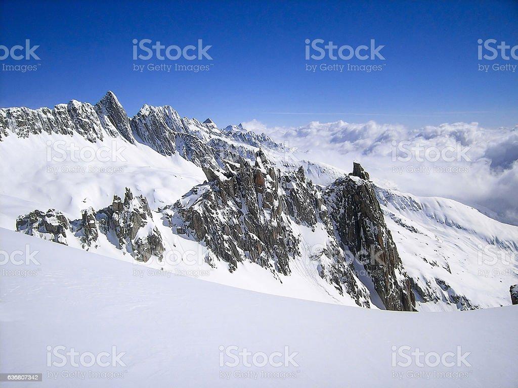 Switzerland Alps stock photo