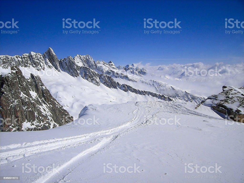 Switzerland, Alps stock photo