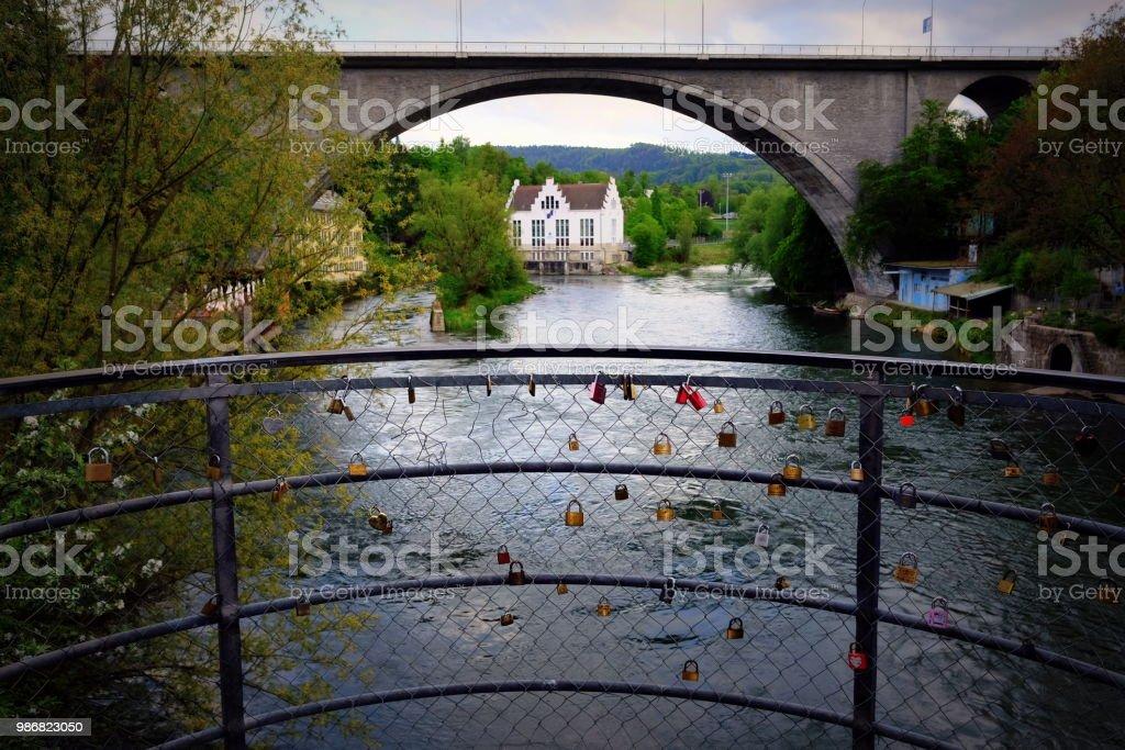 Schweiz Baden Brücke – Foto