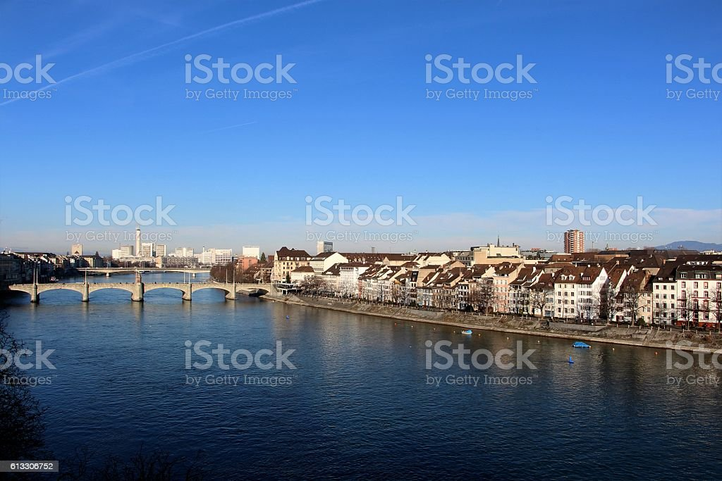 switzerland - basel, panorama – Foto
