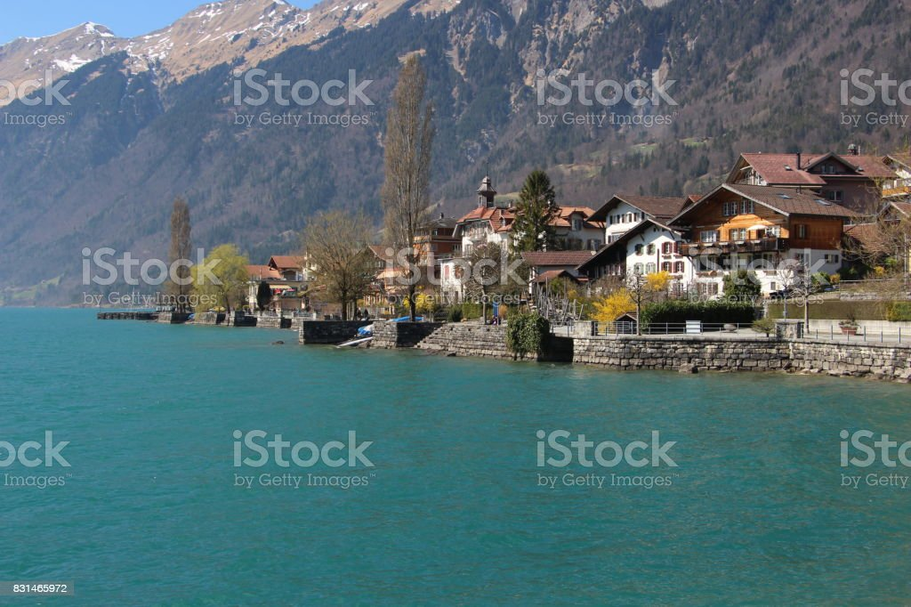 Switzerland - Brienz stock photo