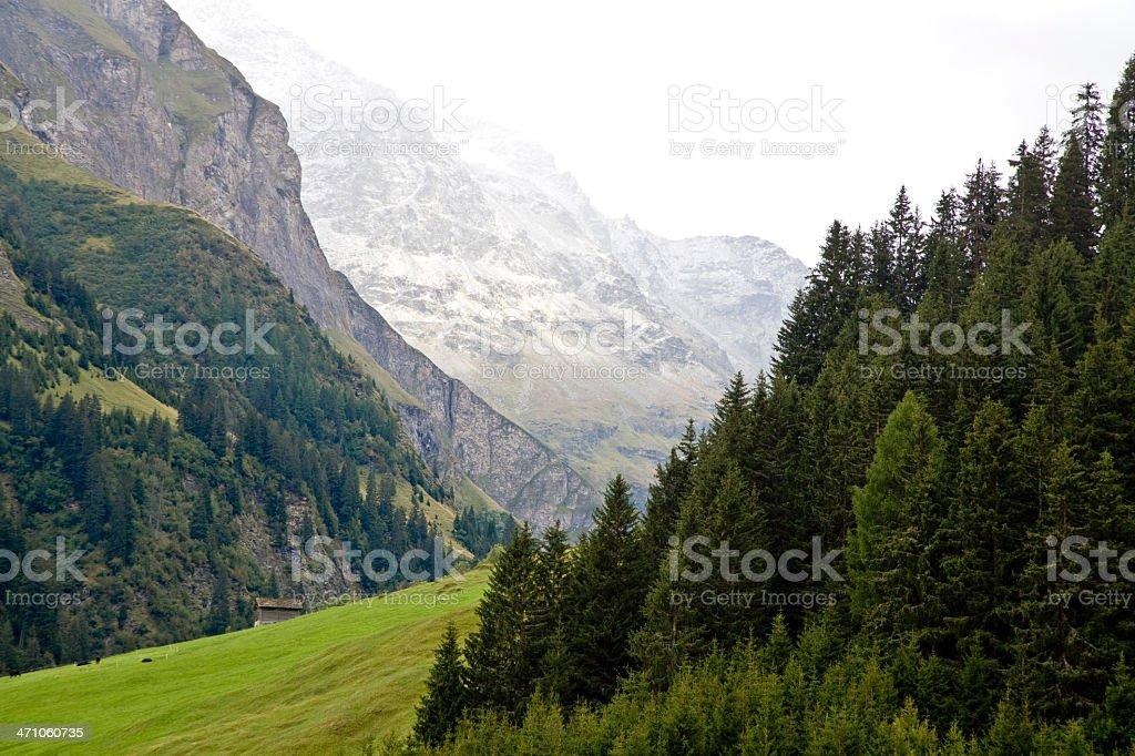 Switzerland European Alps royalty-free stock photo
