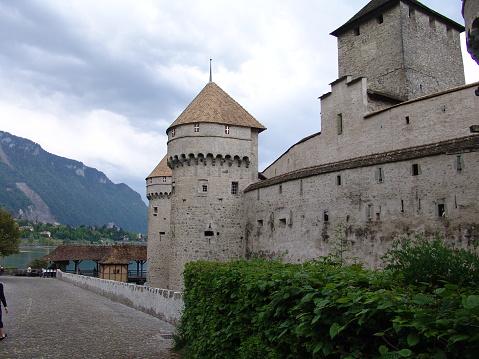Switzerland, Montreux, Chillon Castle