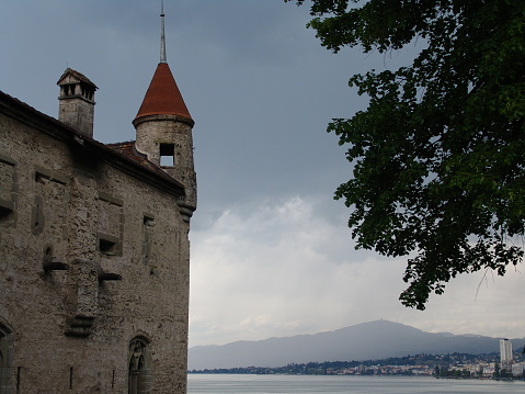 Switzerland, Montreux, Chillon Castle