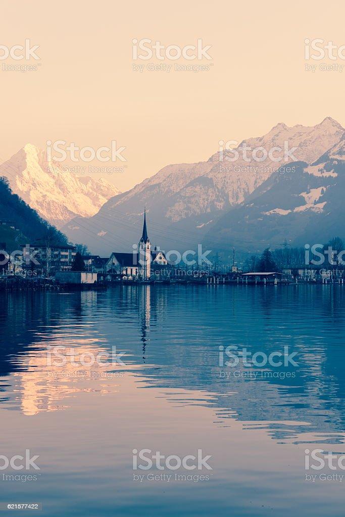 La Suisse. photo libre de droits