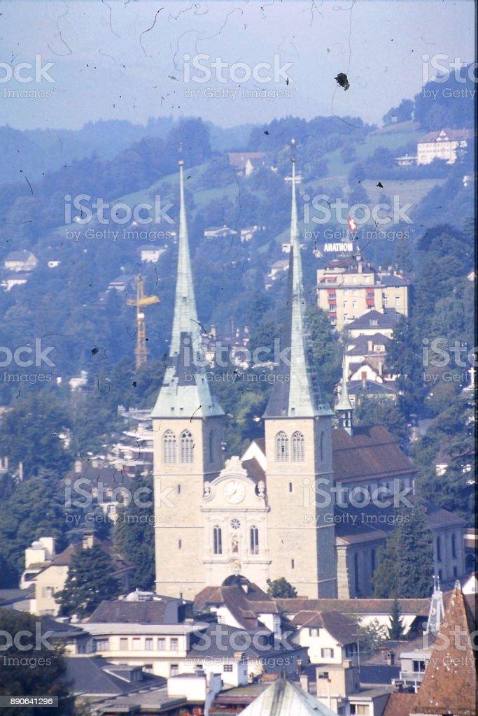 switzerland tour 1986 stock photo