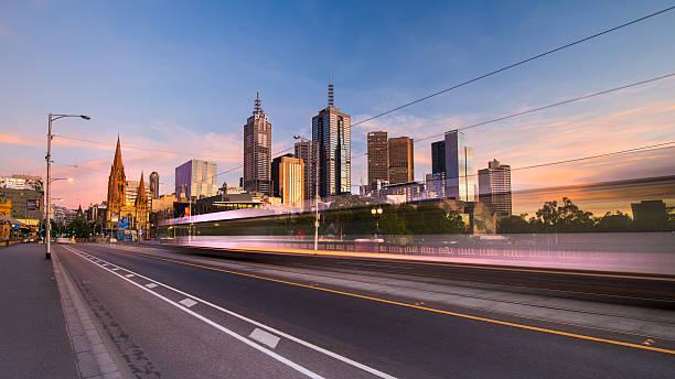 swoosh - victoria australia foto e immagini stock