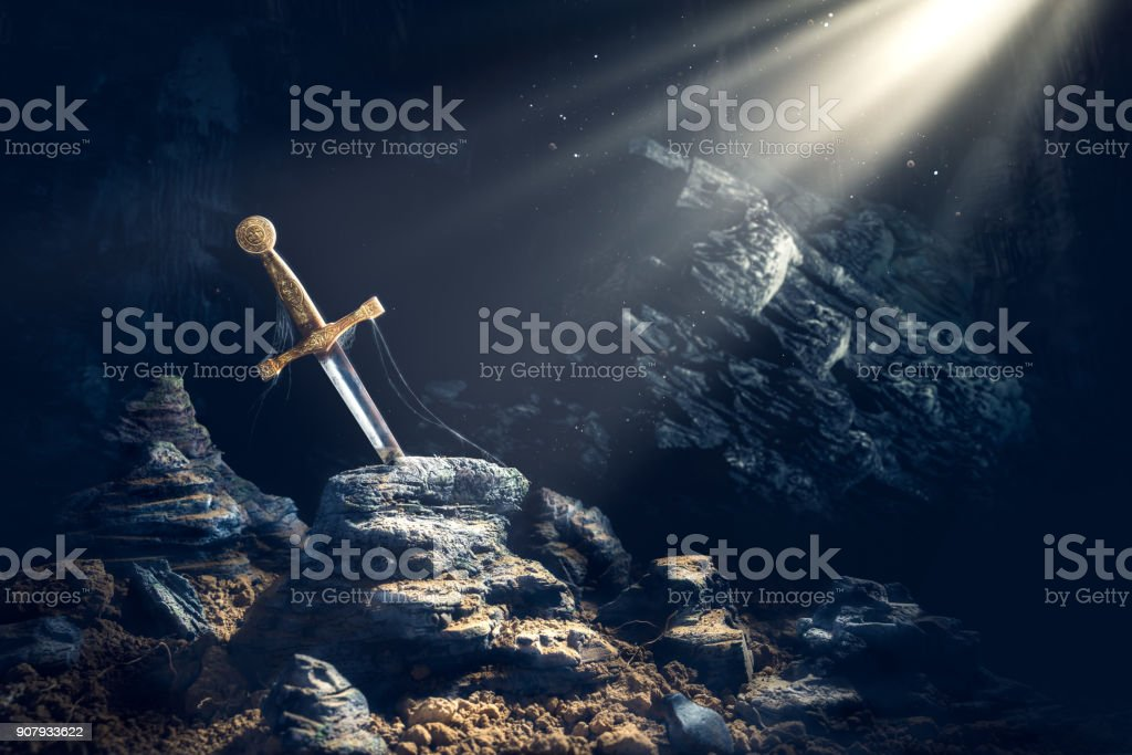 sword-in-the-stone-excalibur-picture-id9