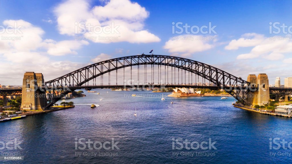 DJI Sy Br Arch Side Day stock photo