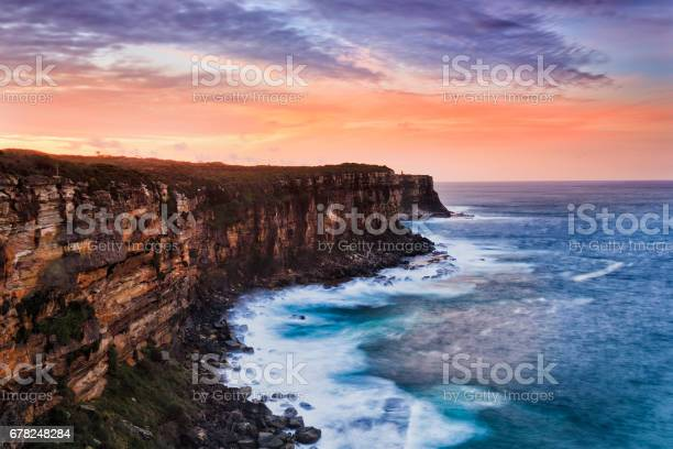 Photo of Sy NHead Cliff red sky set