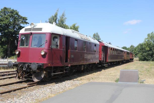 syd fyenske veteranjernbane veteran railway in denmark - pejft stock photos and pictures