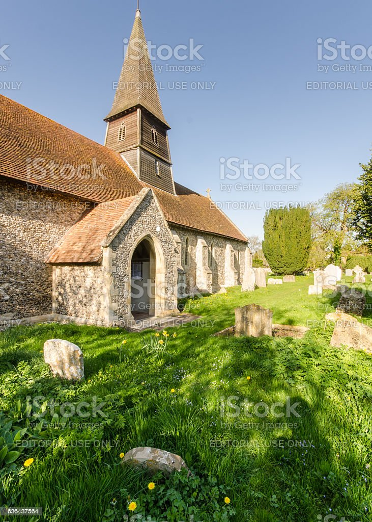 Sydenham Church in Oxfordshire stock photo