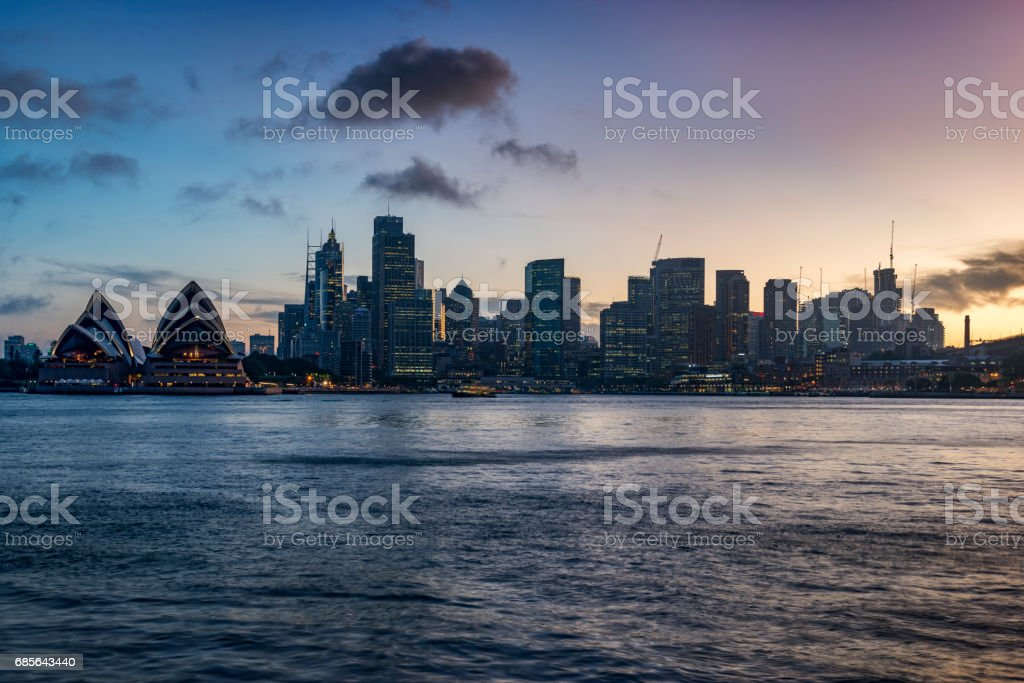 Sydney, Australia -November 30, 2015: Sydney Opera House in Darling Harbour, adjacent to the city center and also a recreational place in Sydney central business district. royalty-free 스톡 사진