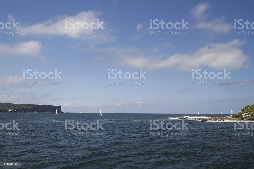 Sydney bay royalty-free stock photo