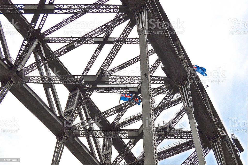 Sydney Bridge royalty-free stock photo