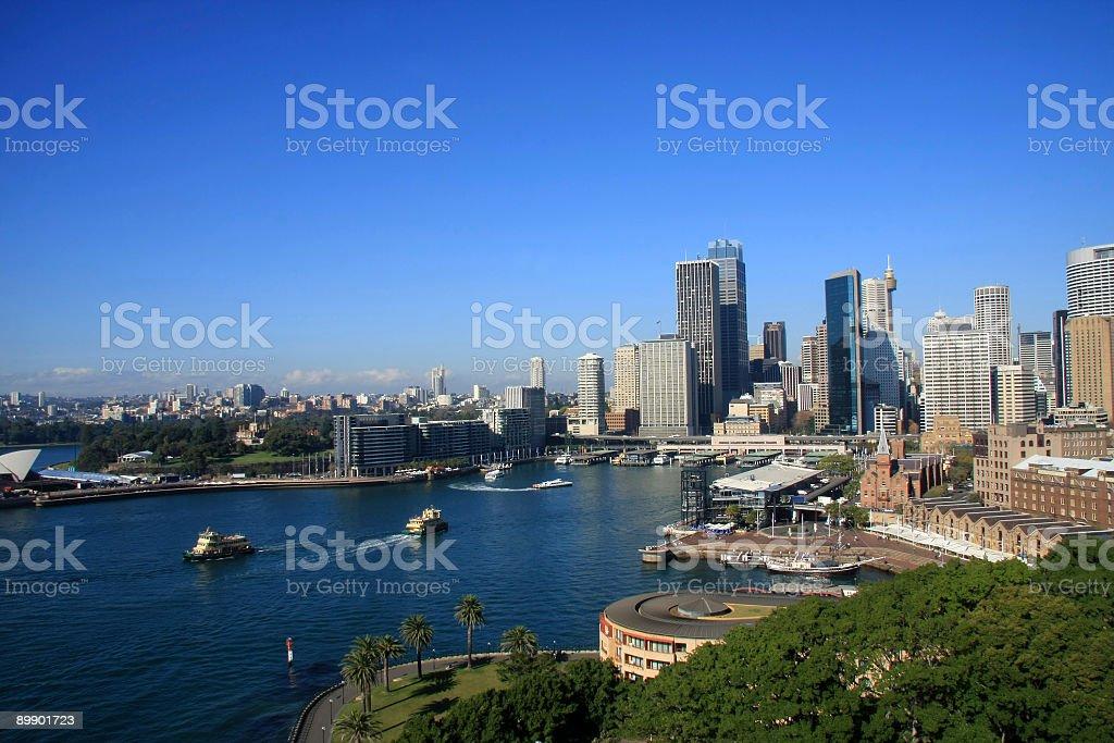 Sydney CBD Buildings Skyline royalty-free stock photo