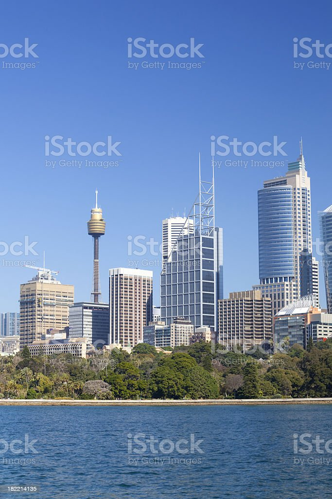 Sydney CBD royalty-free stock photo