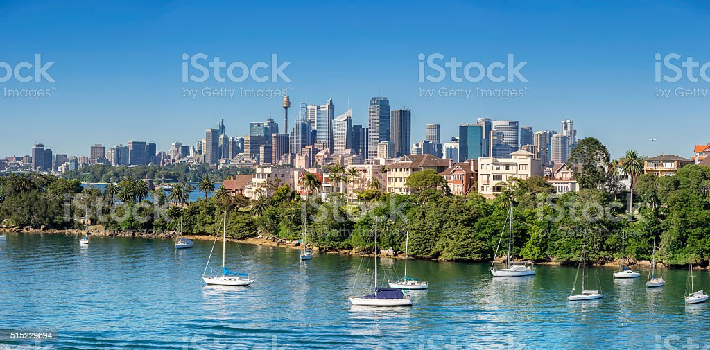 Sydney CBD stock photo