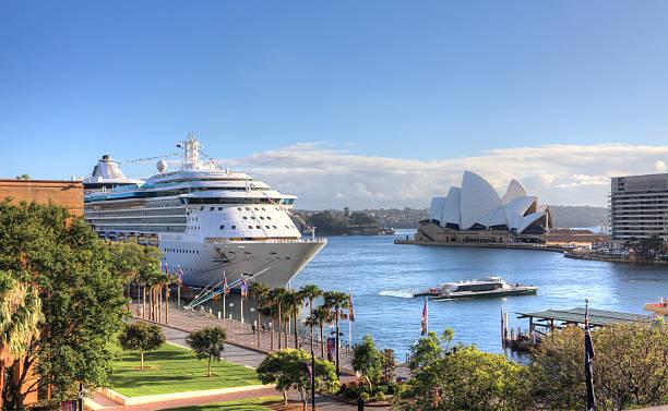 Circular Quay en Sydney, Australia - foto de stock