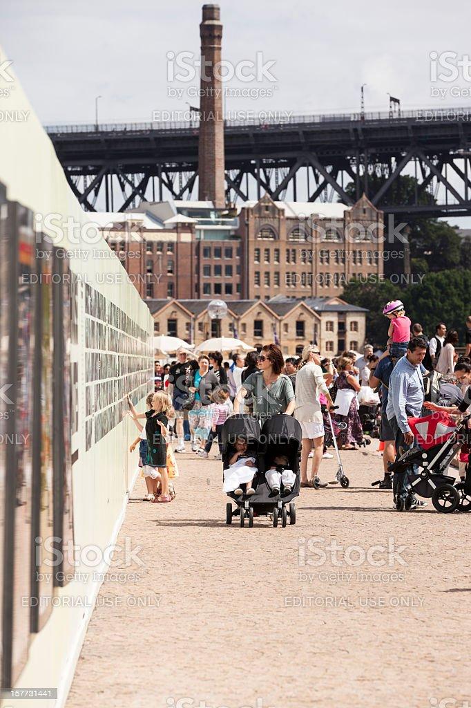 Sydney Circular Quay royalty-free stock photo