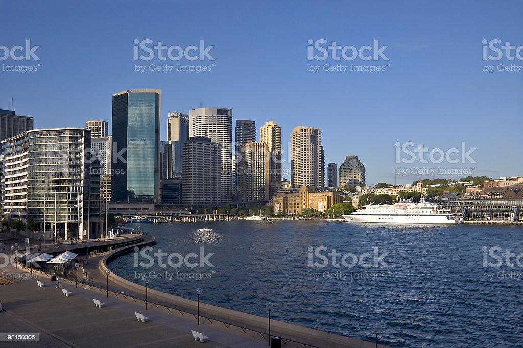 Sydney - Circular Quay royalty-free stock photo