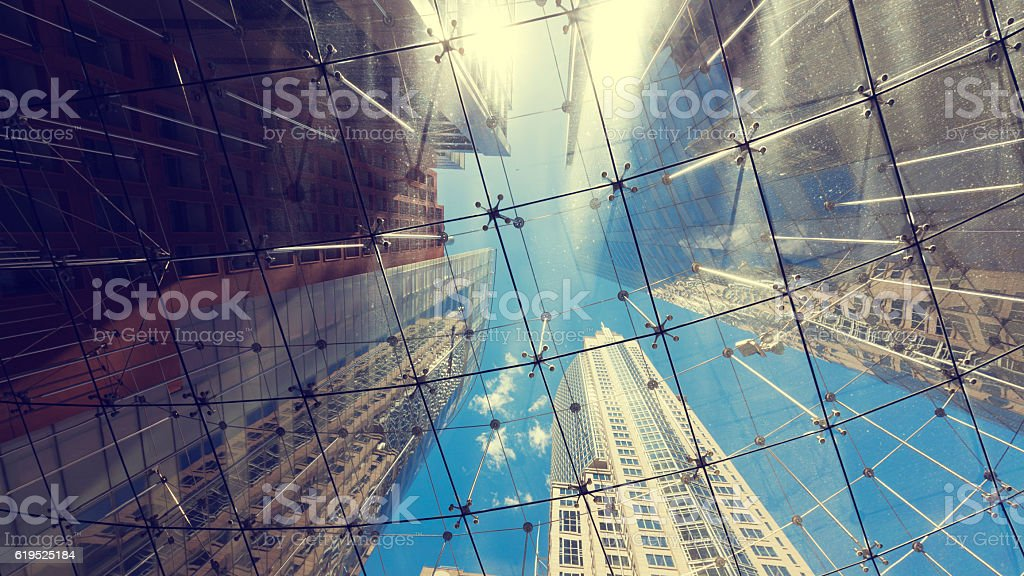 Sydney City Architecture stock photo