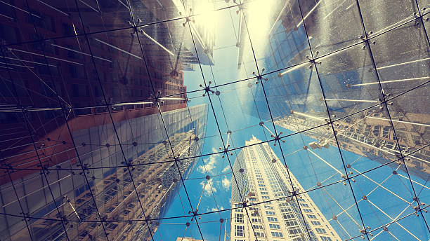 Sydney City Architecture stock photo