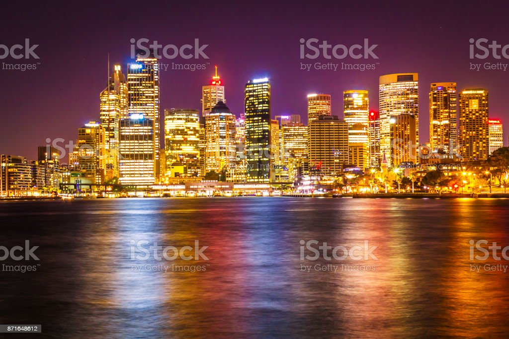 Sydney city CBD stock photo