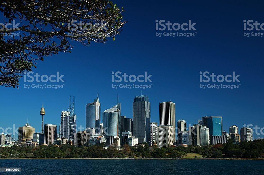 Sydney City royalty-free stock photo