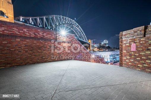 istock Sydney city skyline at night 896217482