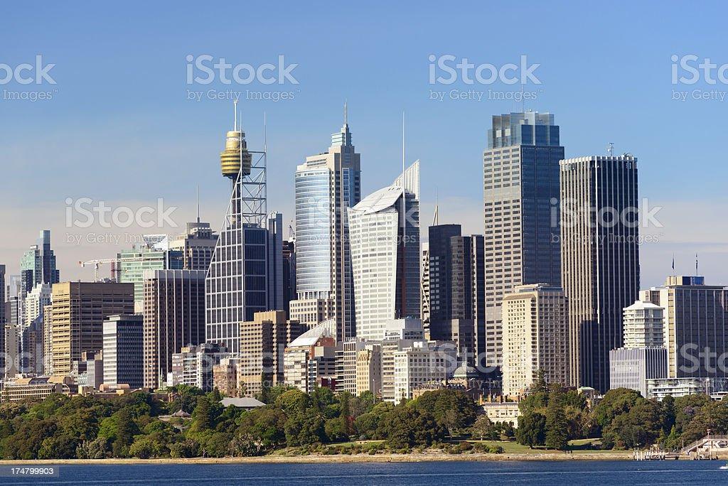 Sydney City Skyline in Australia royalty-free stock photo